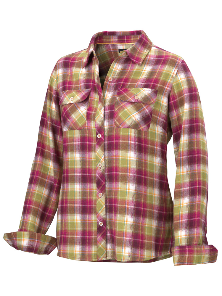Marmot ������� ������� Wm's Bridget Flannel LS
